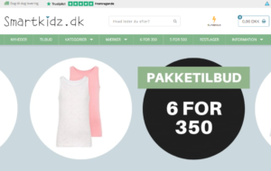 Børnetøj på udsalg hos Smartkidz.dk