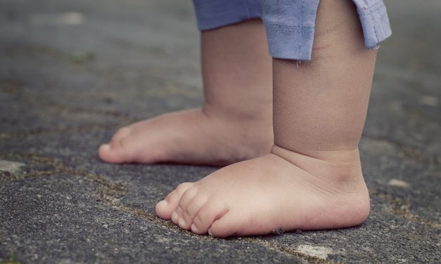 Sådan vokser barnets fødder